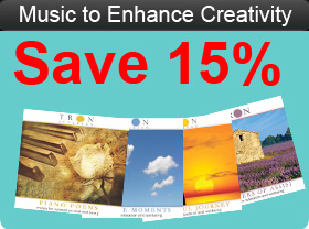 Music to Enhance Creativity (download) 4 CD's
